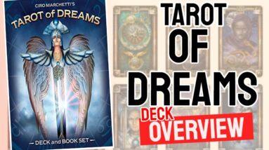 Tarot of Dreams Deck Overview - All Tarot Cards List