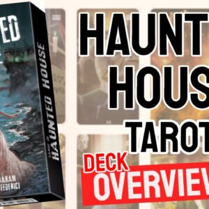 Tarot of the Haunted House Deck Overview - All Tarot Cards List