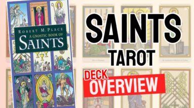 Tarot of the Saints Deck Overview - All Tarot Cards List