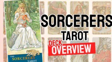 The Sorcerers Tarot Deck Overview - All Tarot Cards List