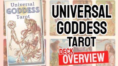 Universal Goddess Tarot Deck Overview - All Tarot Cards List