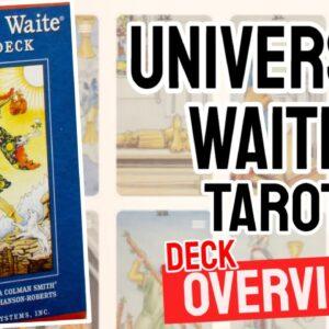 Universal Waite Tarot Deck Overview - All Tarot Cards List