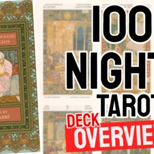 Tarot of the Thousand and One Nights  Deck Overview - All Tarot Cards List