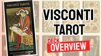 Visconti Tarot Deck Overview - All Tarot Cards List