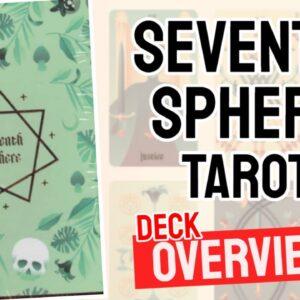 Seventh Sphere Tarot Deck Deck Review | Tarot Cards List (All 78 Seventh Sphere Deck Cards)