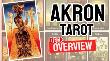 Akron Tarot Review (All 78 Cards Revealed)