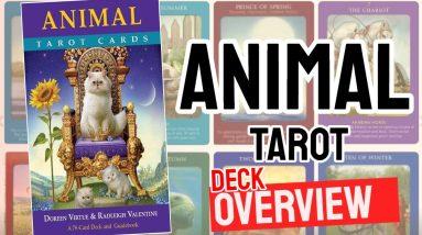 Animal Tarot Deck Review (All 78 Animal Tarot  Cards Revealed!)