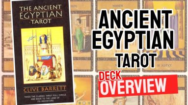 Ancient Egyptian Tarot  Deck Review (All 78 Ancient Egyptian Tarot  Cards Revealed!)