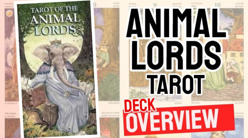 Animal Lords Tarot Deck Review (All 78 Animal Lords Tarot  Cards Revealed!)